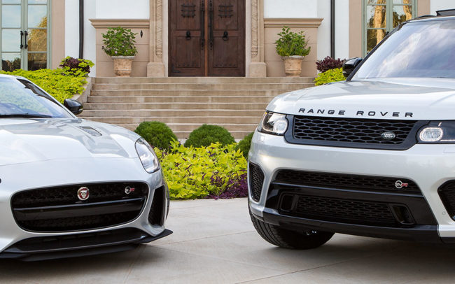 Jaguar and Range Rover of Edmond