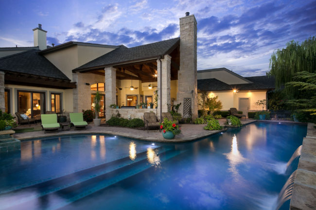 Residential Luxury Real Estate Twilight By Voelker Photo